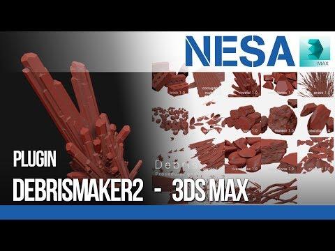 ✔️Plugin DebrisMaker2 - 3Ds Max  🌐 NESA CGD Central