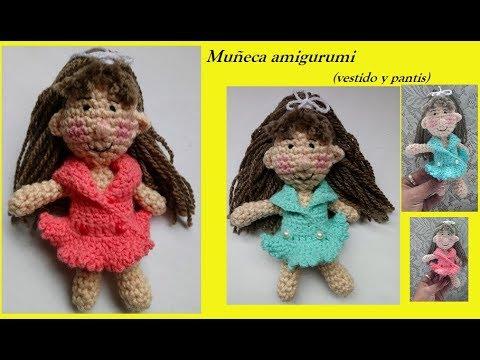 free crochet amigurumi doll pattern with removable dress.   SEEWWW ...   360x480