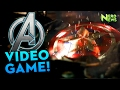 The Avengers Project Teaser - Marvel/Square Enix NEW GAME Announced!