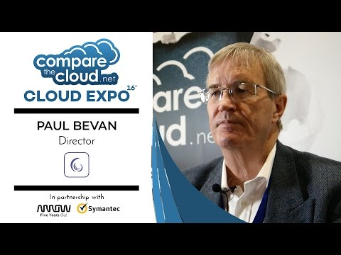 Cloud Disruption - #CloudTalks with Cassini Reviews' Paul Bevan LIVE from Cloud Expo