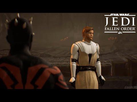 General Obi-Wan Kenobi vs Darth Maul  - Star Wars Jedi: Fallen Order (Mod) |