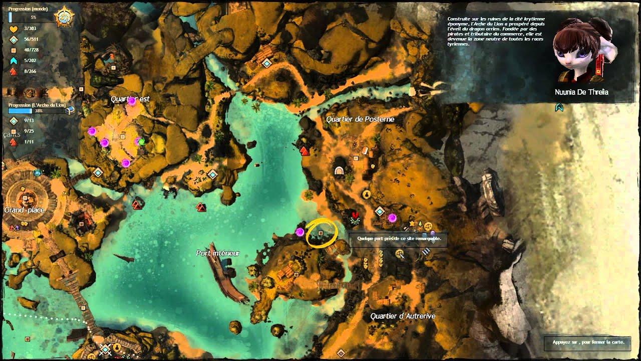 Carte Au Tresor Enchante Gw2.Guild Wars 2 Trouver La Cle Enchantee Find The Enchanted Key
