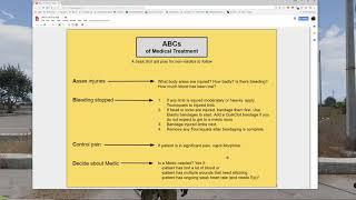 ACE3 Advanced Medical - Treatment Plans: ABCs or Flowchart
