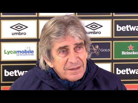 Manuel Pellegrini Full Pre-Match Press Conference - West Ham v Birmingham - FA Cup