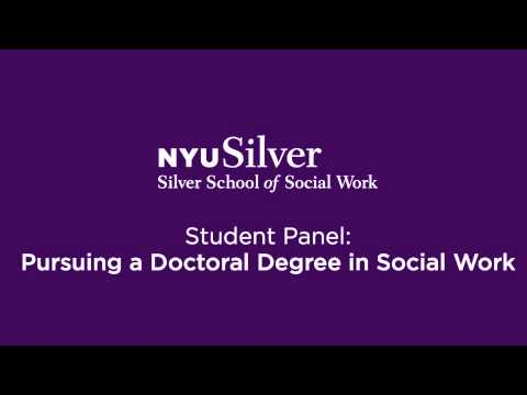 Pursuing a Doctoral Degree in Social Work: Student Panel