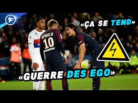 Tensions entre Neymar et Cavani au PSG | Revue de presse