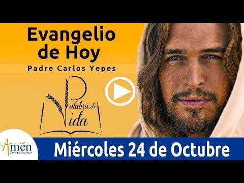 Evangelio de Hoy Miércoles 24 de Octubre de 2018 | Padre Carlos Yepes