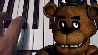 Five Nights At Freddy's / Piano Tutorial / Cover / Notas Musicales thumbnail