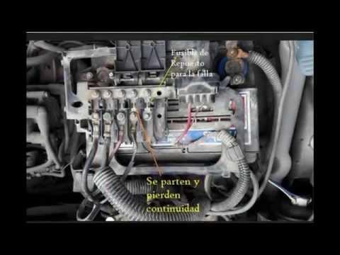 Fusibles Volkswagen Fox 1.6 - YouTube