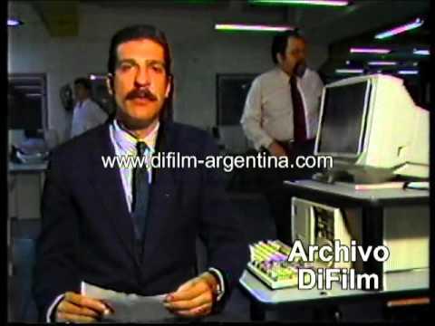 DiFilm - Fabian Veppo en America Noticias (1992)