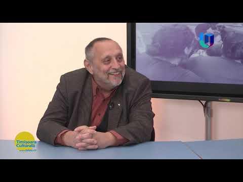 """TeleU: Despre Traian Dorgoșan, """"Regele Boemei"""" timișorene, cu scriitorul Daniel Vighi."""