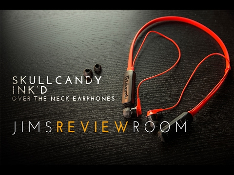 SkullCandy ink'd Wireless Earphones - REVIEW