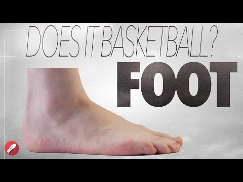 Does It Basketball? Barefoot!