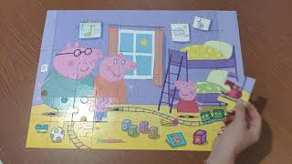 Свинка Пеппа Пазлы для детей Peppa Pig Puzzles For Kids