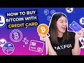 How to buy Bitcoin (BTC) with a credit card - YouTube