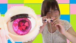 【blythe doll♡ブライス人形】アイギミック制作③~仕上げ!!