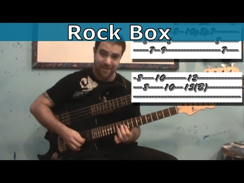 Guitar Tutorial: Rock Box / Marty Friedman