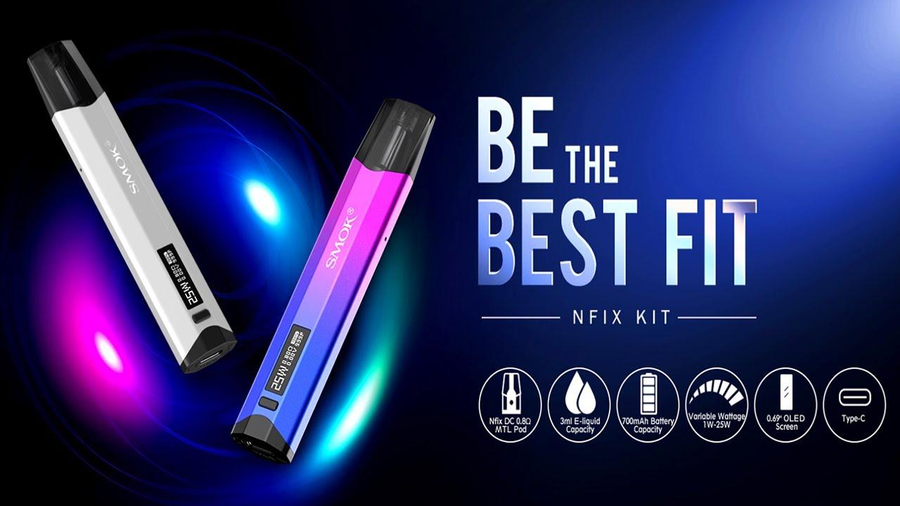 SMOK NFIX Kit Review   The Best Pod System? - YouTube