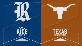Texas Baseball vs Rice Gm 2 Recap [Feb.20, 2017]