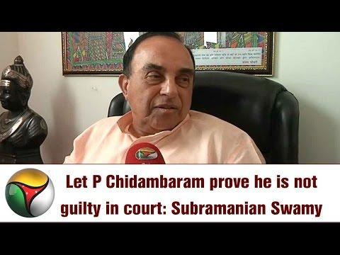 Exclusive: Subramanian Swamy Speaks on CBI Raids P Chidambaram Chennai Premises