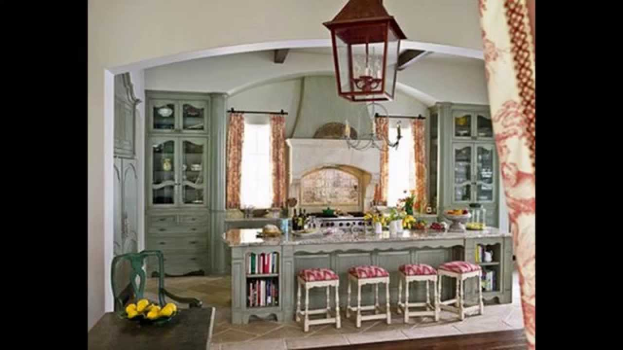 French Country Shabby Chic Kitchen
