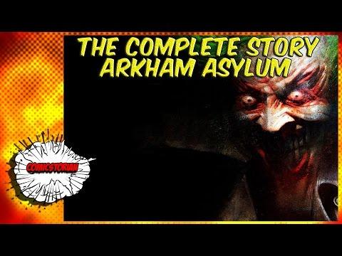 Arkham Asylum Origins -  Batman Complete Story / KYU