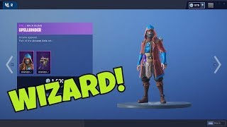 Fortnite NEW *Wizard* Skin (Castor Gameplay!) - Ripire