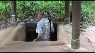 Vietnam's  Củ  Chi Tunnels - Journey with Jamie Logan