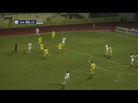 23. krog: Domžale - Koper 0:1; Prva liga Telekom Slovenije 2016/17