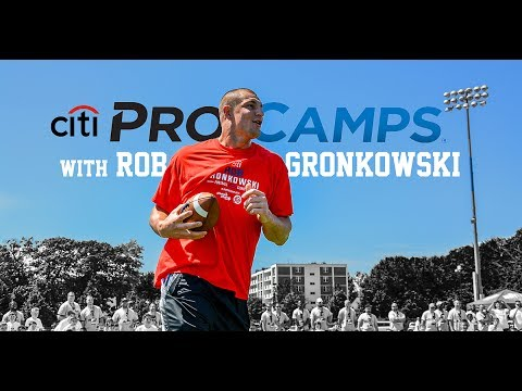Play with the Pros: Summer Camp with Rob Gronkowski