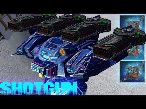 The Crazy Behemoth Thunder Overdrive - DESTRUCTIVE 8 KILL Game  The Most Powerful Shotgun Build Ever
