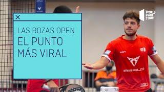 El punto más viral del Estrella Damm Las Rozas Open 2021