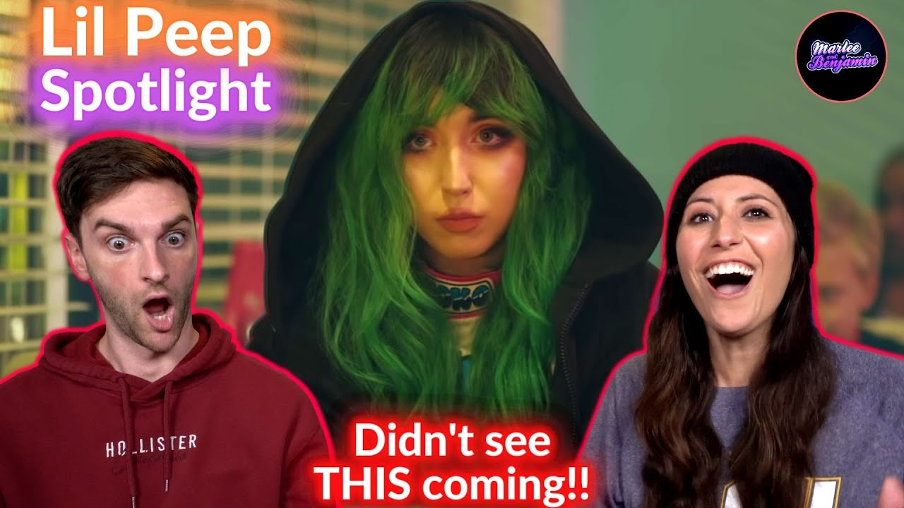 COUPLE REACTS to Marshmello x Lil Peep - Spotlight (Official Music Video)