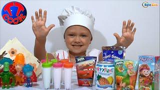 ✔ ФИКСИКИ. Видео для детей. Мороженное для Игрушек от Повара Ярославы. Серия 18 ✔