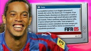 CARRIERA ALLENATORE RETRO SU FIFA 2005! | L