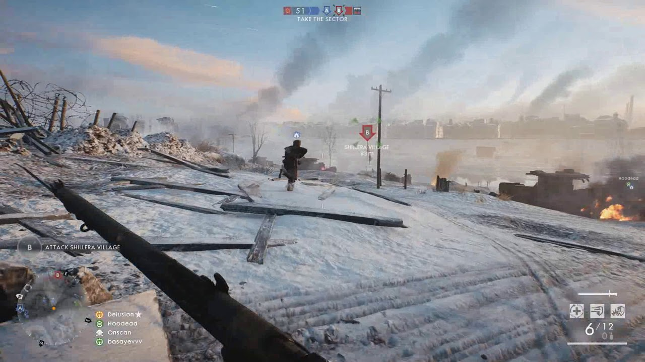 BF1 - Jason Bourne on the Field