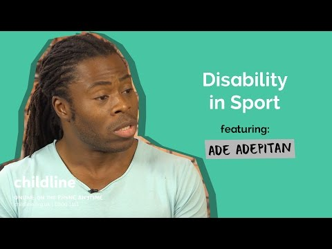 Disability in Sport ft. Ade Adepitan | Voice Box | Childline