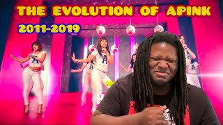 THE EVOLUTION OF APINK (에이핑크) REACTION | kpophabbits