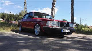 Volvo 240 1988 - mindre renovering o styling