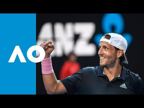 Milos Raonic v Lucas Pouille match highlights (QF)   Australian Open 2019