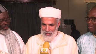 Visite à Touba du Grand soufi Marocain Abdu Aziz Al Amghari ce 21 février 2020