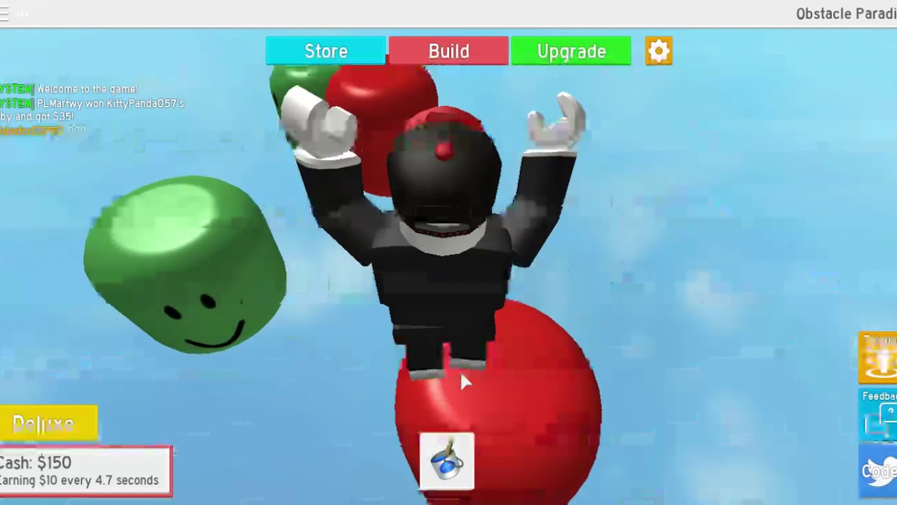 Obstacle Paradise Roblox Codes Roblox Obstacle Paradise Youtube