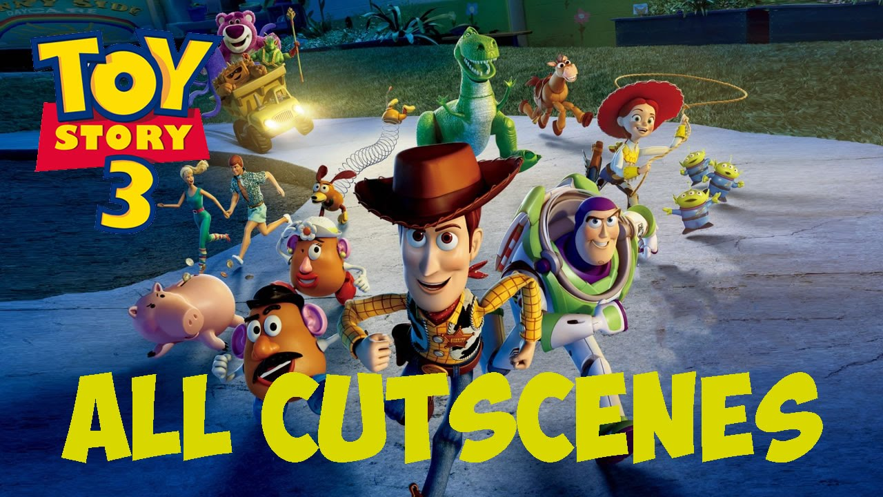 All Toy Story 3 Games : Toy story the video game all cutscenes youtube