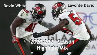 Lavonte David & Devin White || 2020-2021 Midseason Highlight Mix || Tampa Bay Buccaneers