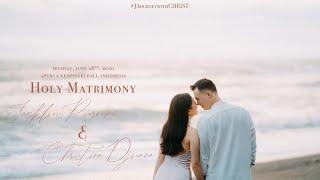 Holy Matrimony | Jackluis & Christina #JAourneywithCHRIST