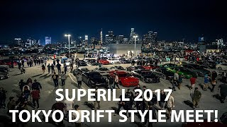 Superill 2017 - CRAZIEST Car Meet I've Ever Been To! | NSX's, RX-7's, R34's, and 2-Step Galore!