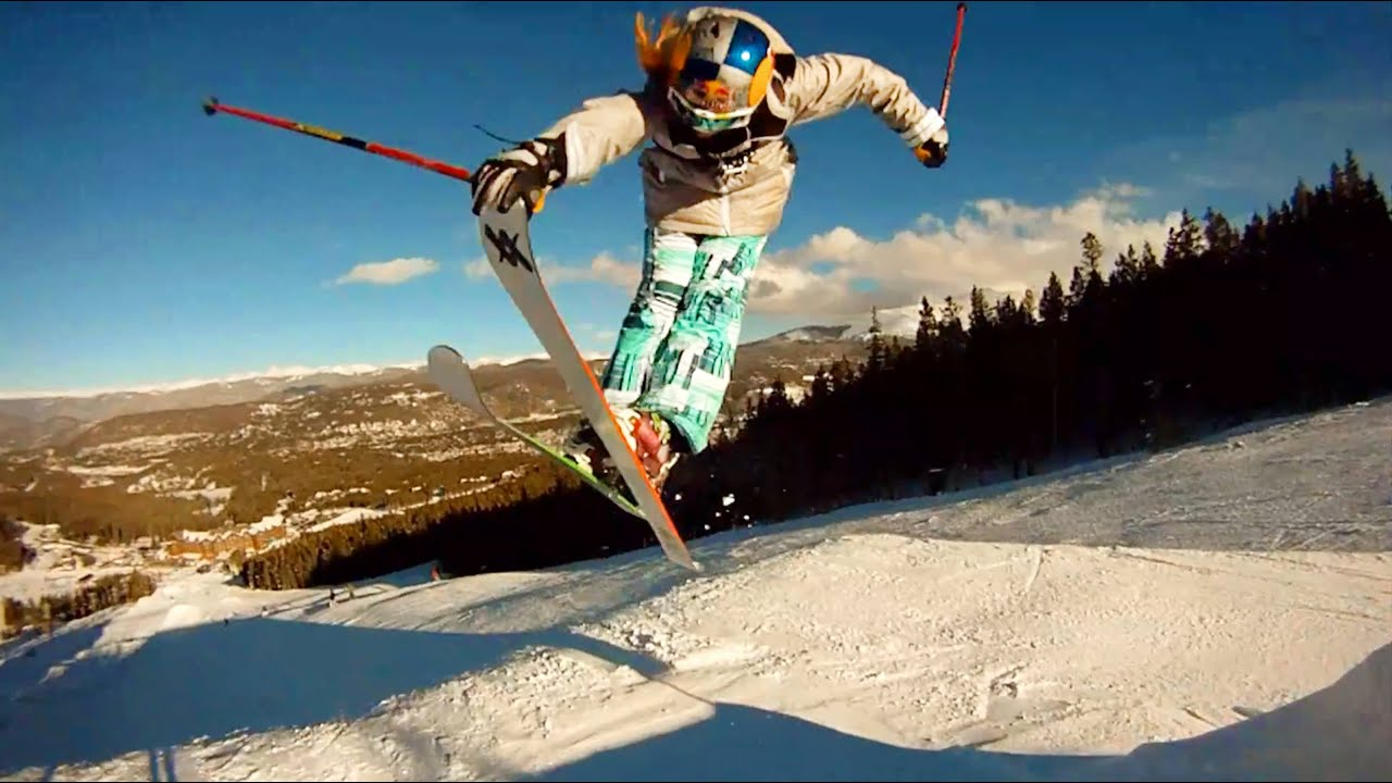 Gopro Hd Skiing With The Girls In Breckenridge Youtube