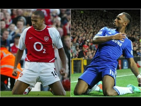 Star Wars: Thierry Henry vs Didier Drogba Ft 100Pct Chelsea