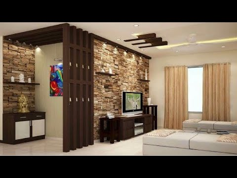 Top 100 Stone Wall Decorating Ideas For Living Room Interior Design 2020