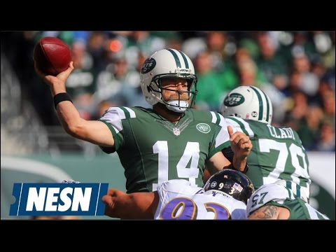 Geno Smith Injured As Ryan Fitzpatrick Leads Jets To Victory